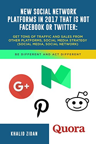 Social Network Platforms Facebook Twitter ebook product image