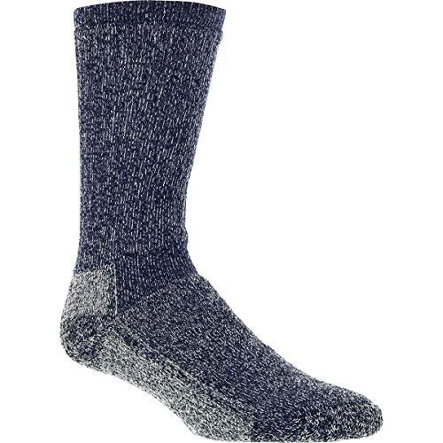Woolrich, Ten Mile Hiker Heather Sock, Navy/Gray, Large