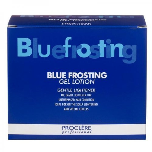 (PROCLERE BLUE FROSTING GEL LOTION 1 X 50ML 4 X 13G BLUE FROSTING BOOSTERS by PROCLERE)