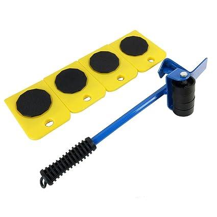 Heavy Goods - Cambiador de muebles de 5 piezas para mover pesas, cambiador de muebles