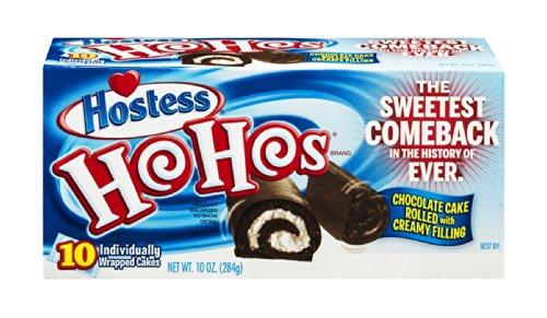 Hostess Ho Hos 10 OZ (Pack of 18) by Hostess