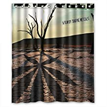 Modern design Mildew resistant the-walking-dead Shower curtain, Width * Height / 60 * 72 inch / 152 * 183cm, polyester, best for Decorative