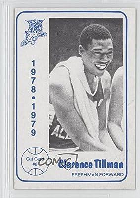 Clarence Tillman (Basketball Card) 1978-79 Foodtown University of Kentucky Wildcats - [Base] #8