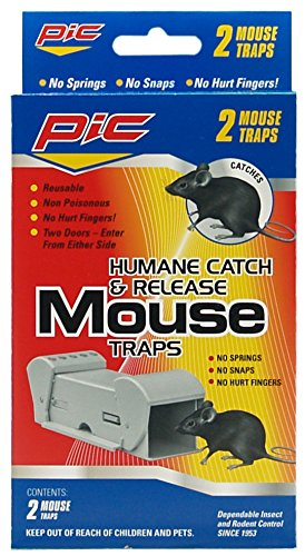 PIC Corporation POMT Humane Catch and Release Mouse Trap - P