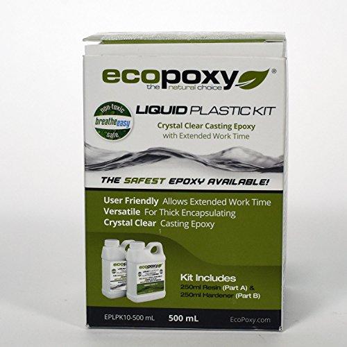 Ecopoxy Liquid Plastic Kits (500 ML) by Ecopoxy (Image #4)