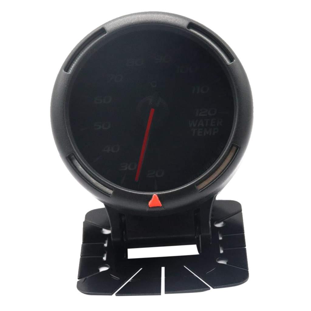 Homyl Manometro Indicatore Temperatura Olio Display 64 Colori Retroilluminazione Auto
