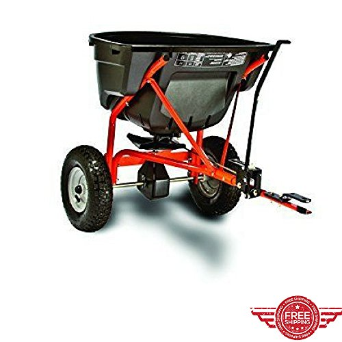 Broadcast Spreader Tow Pull Behind Riding Mowers Garden