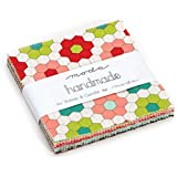 "Handmade Charm Pack By Bonnie & Camille; 42 - 5"" Precut Fabric Quilt Squares"