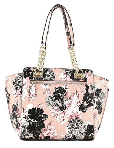 GUESS Halley Shopper Borsa Rosa Floral