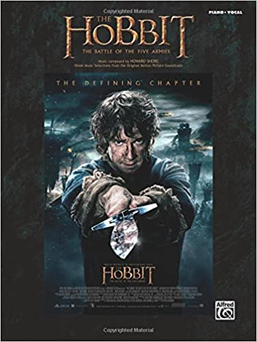 The Hobbit -- The Battle of the Five Armies: Sheet Music