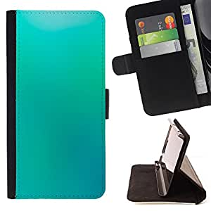 DEVIL CASE - FOR Samsung Galaxy A3 - Blue Wallpaper Light Sky Relaxing Paint - Style PU Leather Case Wallet Flip Stand Flap Closure Cover