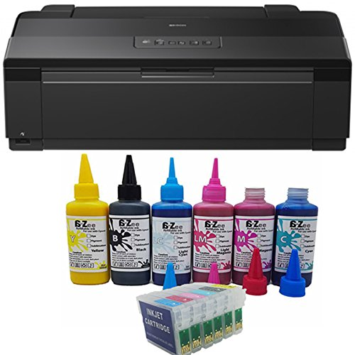Epson Stylus Photo 1500 W A3 Impresora + no OEM Cartuchos ...
