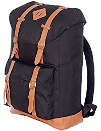 Jetstream Classic Lightweight Laptop Travel Daypack Backpack (Black)