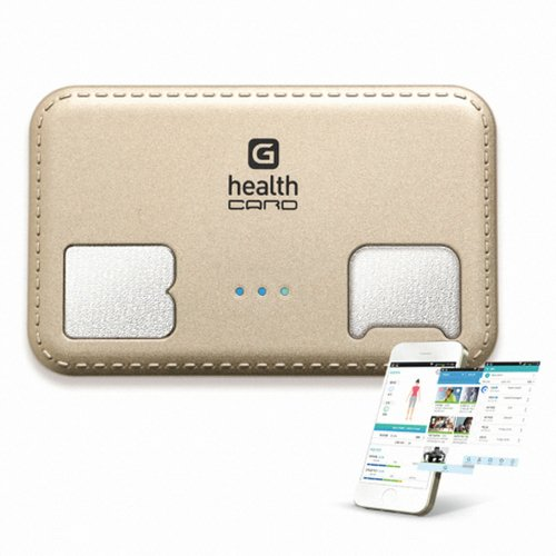 G-Health Smart Bluetooth Body Fat Check Analyzer - Card Type BMI Meter Monitor by G-Health