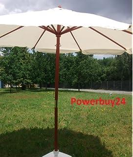 Frisch Amazon.de: Sonnenschirm 3m, Landhausschirm 3 Meter, Marktschirm  WS25