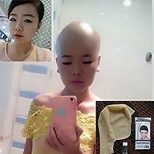 WellieSTR Profesional Bald Head Wig Skin Cap Latex Clown Skinhead Party cos Manequin Head