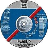 PFERD 63431 9'' x 1/8'' Notching Wheel 5/8-11 Thd. A 24 R SG-INOX Type 27 (10pk)