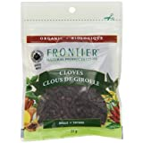 Frontier Natural Products Coop Bulk Cloves Whole Pouch, French/English, 31-Gram