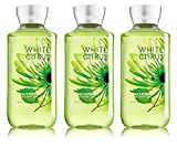 Lot of 3 Bath & Body Works White Citrus 8.0 oz Shower Gel