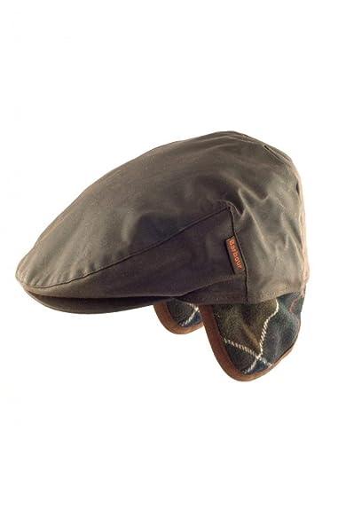 BARBOUR Cappello BAACC1112 Cheviot Wax Flat Cap AI20: Amazon.es ...