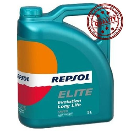 Repsol RP141Q55 Elite Evolution Long Life 5W-30 Aceite de Motor ...