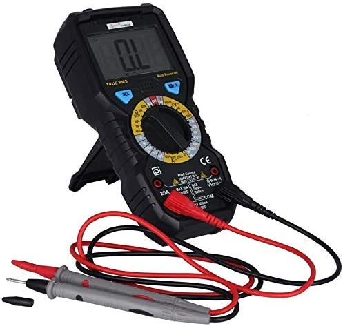 HYY-YY ADM08A 6000 Counts Digital Multimeter True RMS 1000V AC/DC Voltage Resistance Capacitance Frequency Ratio Tester