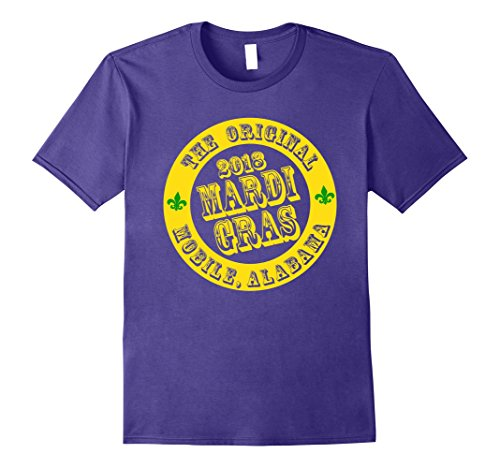 First Mardi Gras in Mobile Alabama Fat Tuesday Group Tshirt ()