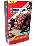 Clif Builders Protein Bar Variety Pack 18 Bars, 43.20 Ounce