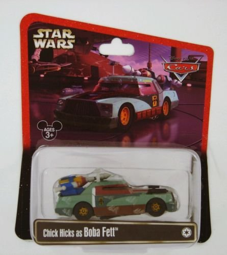 Disney Pixar Exclusive Star Wars CARS Chick Hicks as Boba Fett (Chick Hicks Boba Fett)