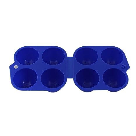 4 Grids Caja de Soporte para Huevos Caja de Almacenamiento ...