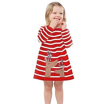 4d181655964b1 ワンピース 赤ちゃん服 ベビー服 Glennoky 2色 エルク柄 ストライプ スカート ドレス キレイめ お姫様 プリンセス