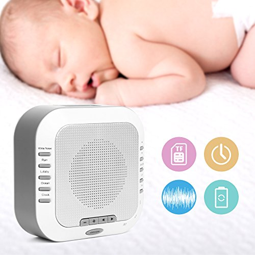 White Noise Machine,Premium Rechargeable Sleep ...