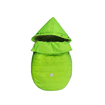 b2772c85f90a Amazon.com   7AM Enfant Bee Pod Baby Bunting Bag for Strollers and ...