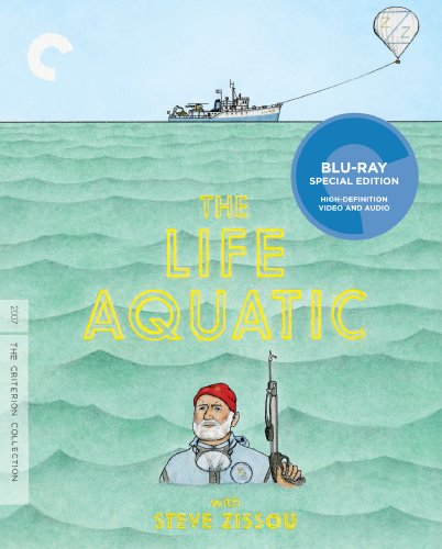 The LifeAquatic with Steve Zissou (Criterion Collection) [Blu-ray]