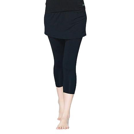 Contifan PIERYOGA - Falda de Yoga para Mujer 41704MH 3/4: Amazon ...