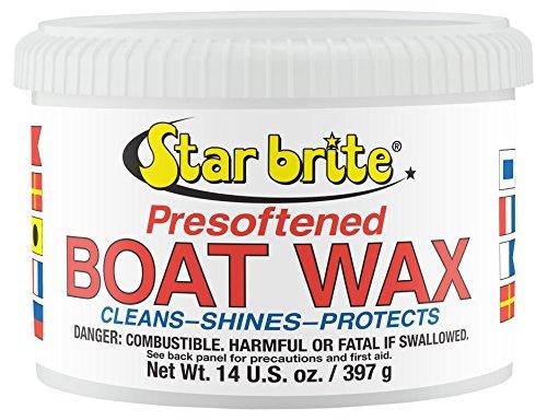 Star brite Presoftened Paste Wax - 14 oz (Brite Cleaner Aluminum)