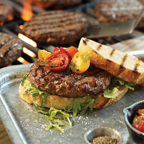12 (4 oz.) Old-fashioned Omaha Steaks Burgers