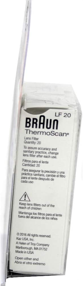 Braun Thermoscan Lens Filters 80ct: Health & Personal Care