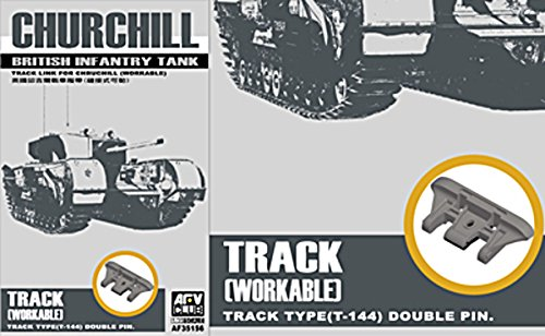 - AFV Club Churchill Workable Track Links 1:35 Scale Military Model Kit