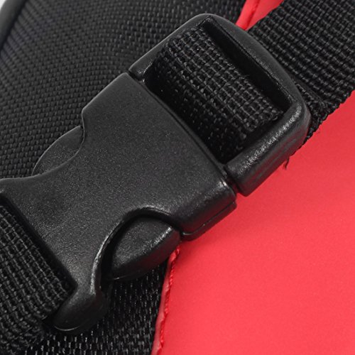 sourcingmap® Radfahren Fahrrad Schwarz Rot Satteltasche Radtasche Tasche B-SOUL Berechtigt