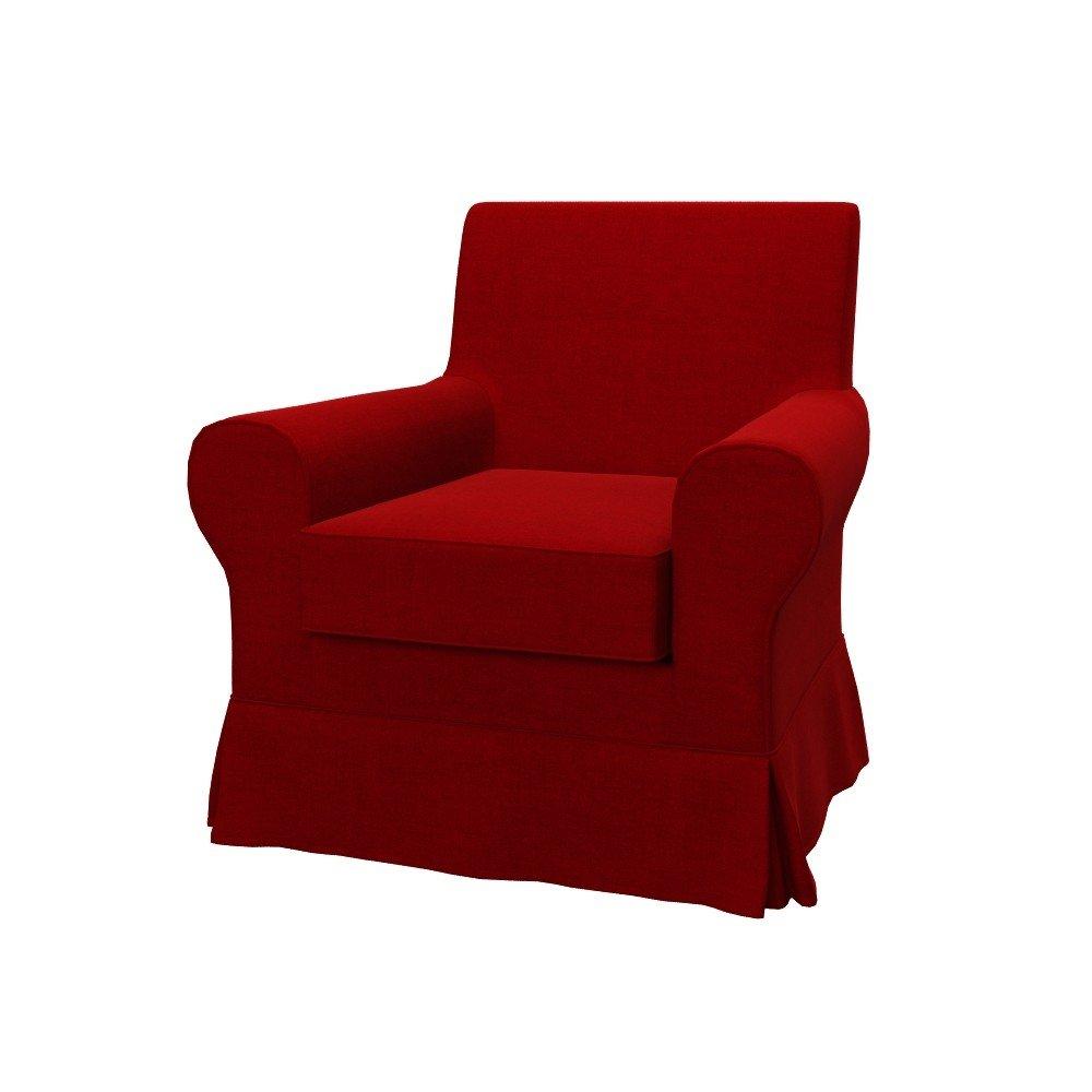 Soferia - IKEA EKTORP JENNYLUND Fodera per poltrona, Elegance Red