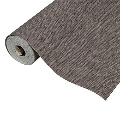 Textures Faux Grasscloth Peel Stick Wallpaper Walls Roll Décor (brown)