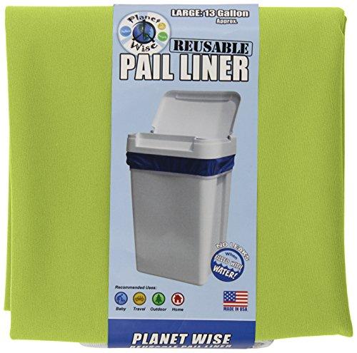 Planet Wise Reusable Diaper Pail Liner, Avocado