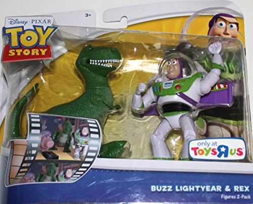Toy Story 2er Figuren Set Buzz Lightyear & Rex - Disney Pixar