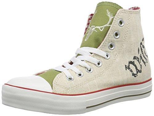 Krüger Madl Unisex-Erwachsene Hohe Sneakers, Beige (braun / 7), 42