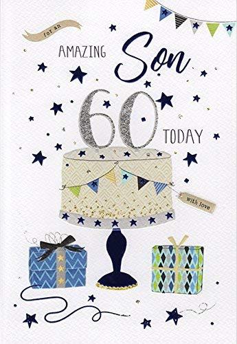 Tarjeta de felicitación de 60 cumpleaños para un hijo ...