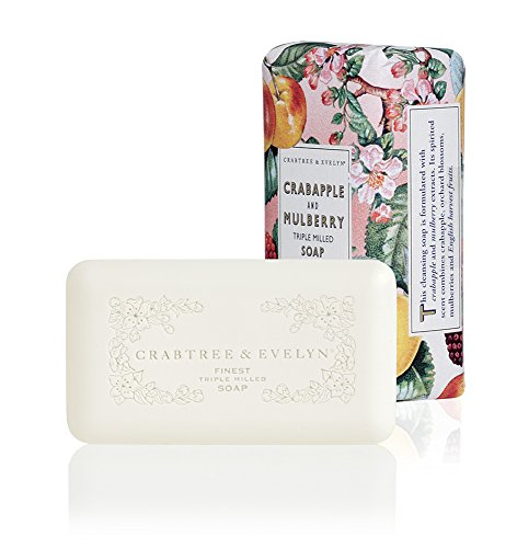 Crabtree & Evelyn Triple Milled Soap, Crabapple and Mulberry by Crabtree & Evelyn