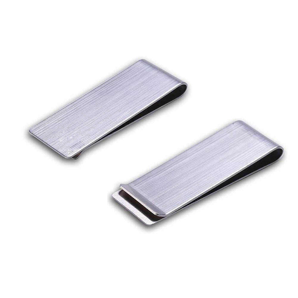 TWDRer 6 PCS Stainless Steel Money Clip