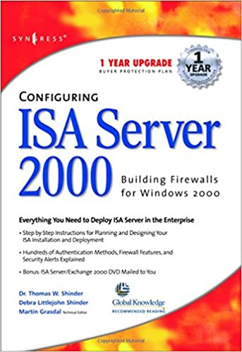 Book Configuring ISA Server 2000