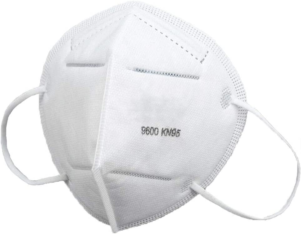 Safety Masks Disposable Respiratory Mask, PM2.5 Face Mask for Dust (6 Packs)